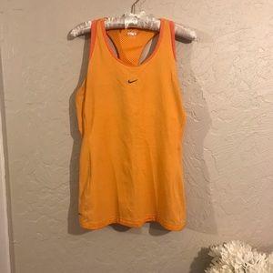 Nike workout tank top size L